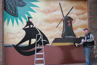 Graffiti als cadeau voor de Zaanstreek