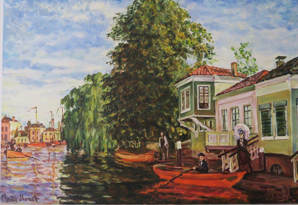 Monet in Zaandam is springlevend