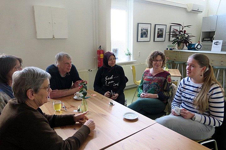 Even binnenlopen bij Lisa: inloopcafé De Kolk