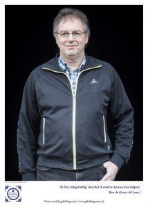 Geluksbrenger Ben de Groen: Goede communicatie is zo belangrijk. Foto: Ruben Timman | nowords.nl