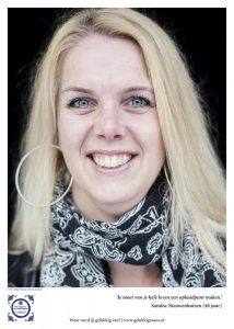 Geluksbrenger Sandra Nieuwenhuizen: Maak van je hele leven een oplaadpunt. Foto: Ruben Timman   nowords.nl