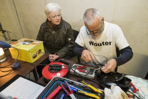 Repair café Wormerveer Joop de Kok