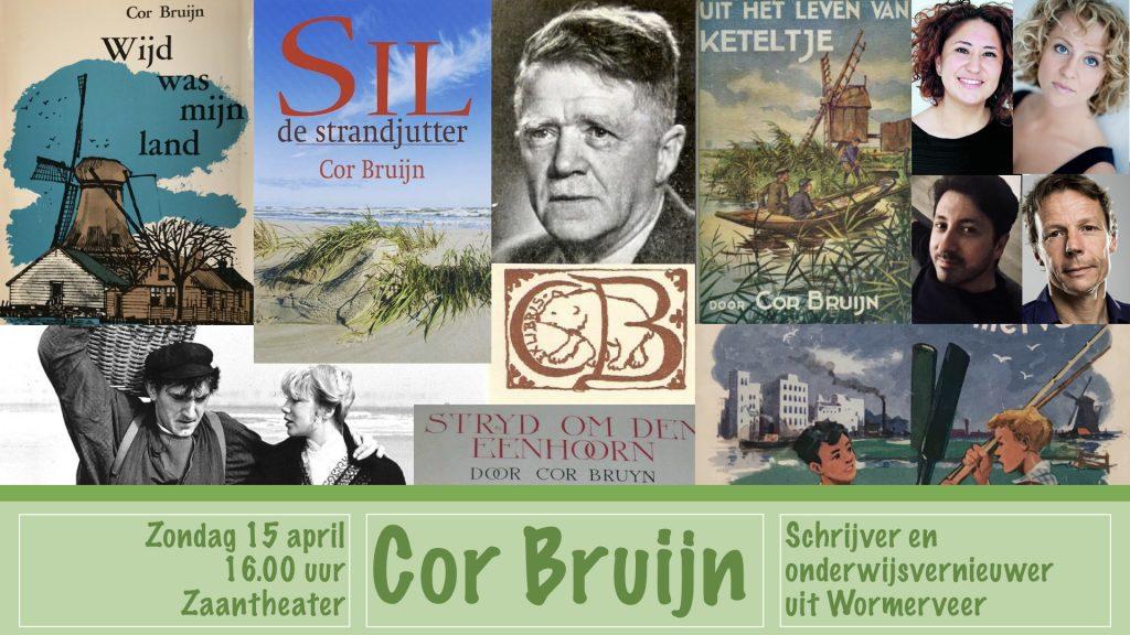 Cor Bruijn speelt zondag 15 april 2018 de hoofdrol in het Zaantheater