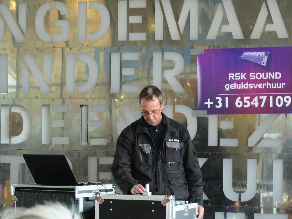 Ronald Schenk Sound draaide geluksnummers