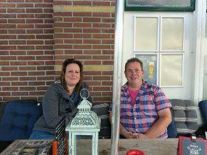 Peter Rutz en Marissa Stuiver, beheerders Food aan de Saen, foto Sarah Vermoolen