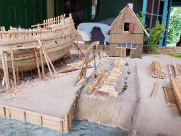 Zaanse historische scheepsbouw