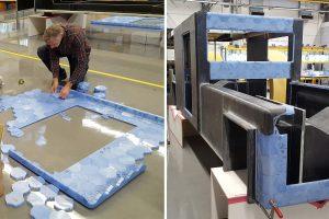 Edwin ter Velde bouwt met HexCores de Solar Voyager, foto Clean2Antarctica