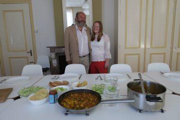 'Koken met mannen' in Koog