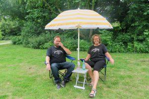 Vrijwilligers De Buurtcamping Agathepark Krommenie, foto Sarah Vermoolen