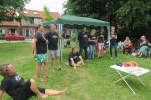 Vrijwilligers De Buurtcamping Krommenie, foto Sarah Vermoolen