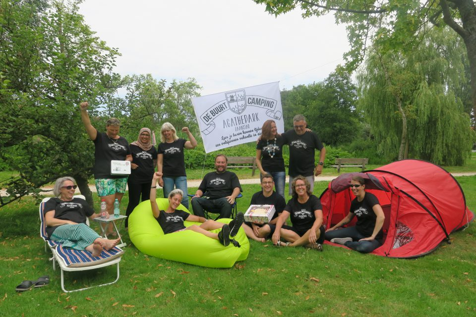 Buurtcamping Agathepark: gezellig samen leuke dingen doen