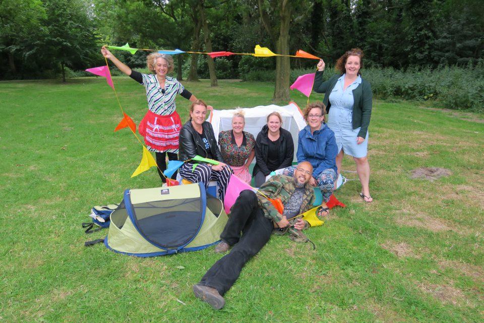 Buurtcamping Veldpark: ontdek hoe verrassend je buurt is