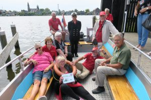 Vrijwilligers Voetveer Zaandijk, foto Sarah Vermoolen