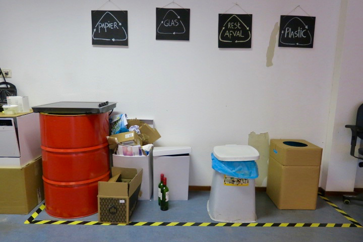 Zero Waste centrum: reductie en hergebruik van bedrijfsafval