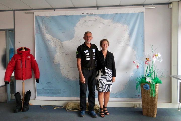 Edwin en Liesbeth ter Velde gaan met Solar Voyager naar Antarctica, foto Sarah Vermoolen