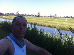 Fred Steenbergen tijdens Rondje Zaanse Schans