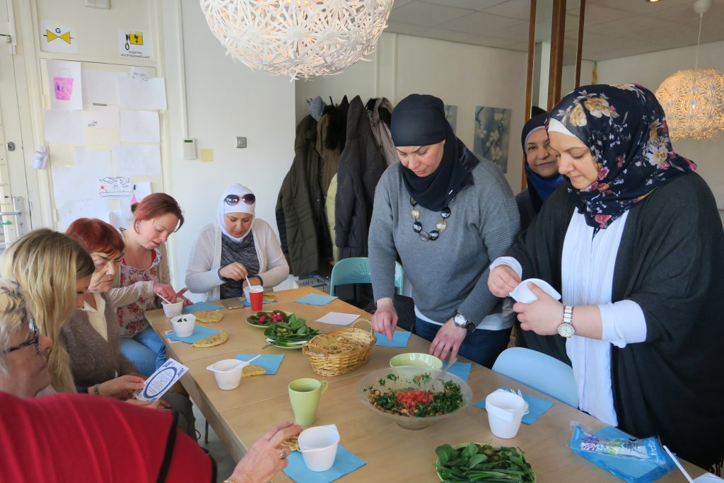 Nieuwkomer Shatha Tamim bij Vrouwenochtend Zaandam