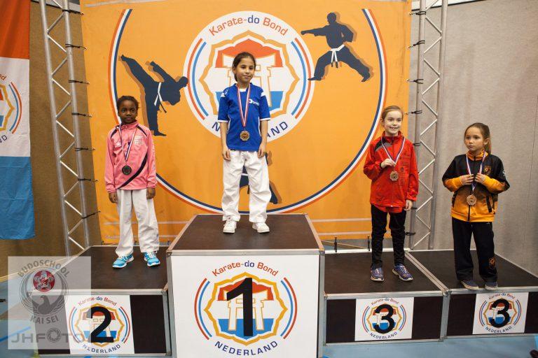 Lyna Achghouyab NK karate 2018