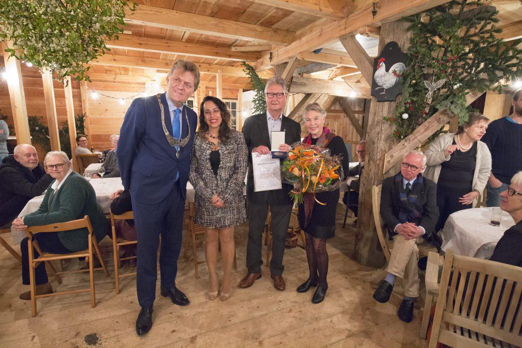 Ron Sman erepenning Zaanstad, foto Alfons van Schijndel