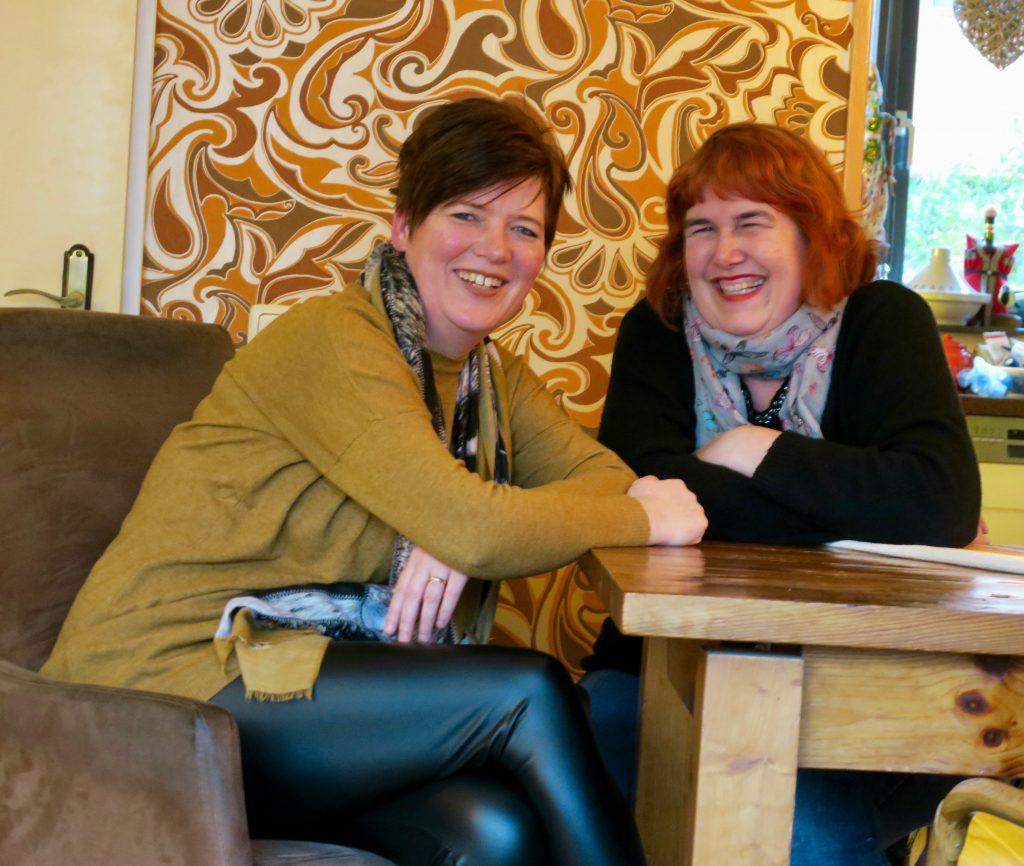 Evelien Huijboom en Sandra Raino van Mama Vita Zaanstreek Waterland, foto Sarah Vermoolen