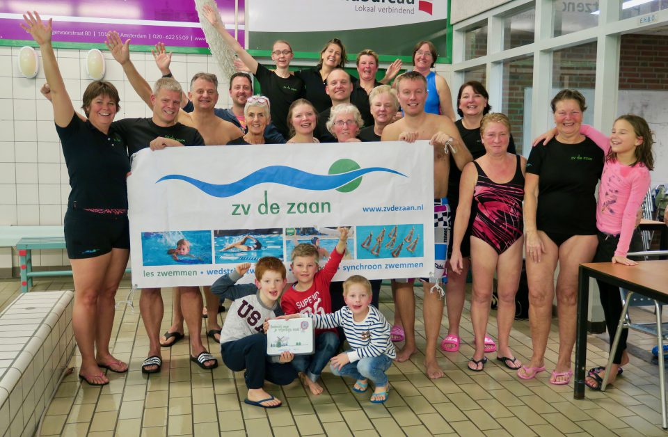Zwemles ZV de Zaan: plezier staat voorop