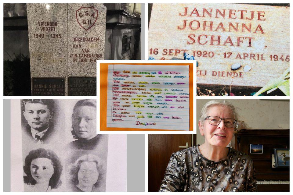 Hannie Schaft herdenking: 'Blijf een mensenkind'