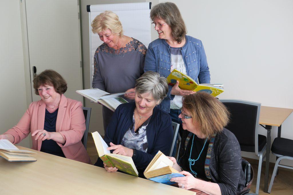 Voorlezers Schatkist vol verhalen, foto Sarah Vermoolen