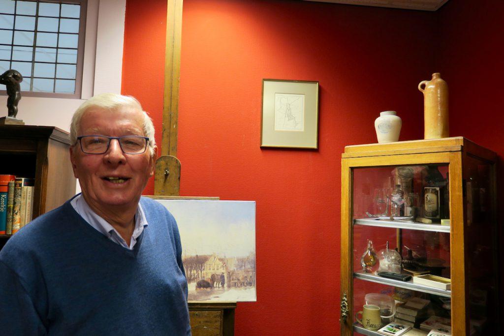 Dick Zwart, historische Vereniging Wormerveer