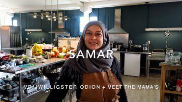 Samar vertelt over vrijwilligerswerk