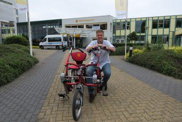 Oostergouw: 'Kan ik ook een keer mee op de fiets?'