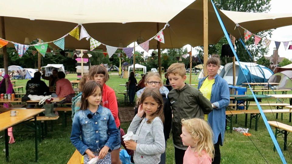 Bezoek aan Buurtcamping Veldpark Zaandam