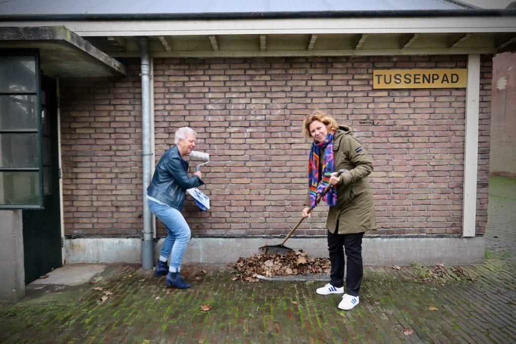 Jeanet Pols en Anouk Hermanns van Present Zaanstreek