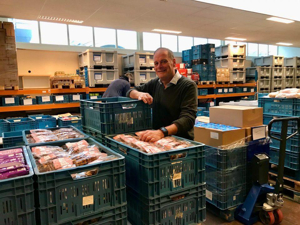 Hans Brinkhuis: Van bank naar voedselbank