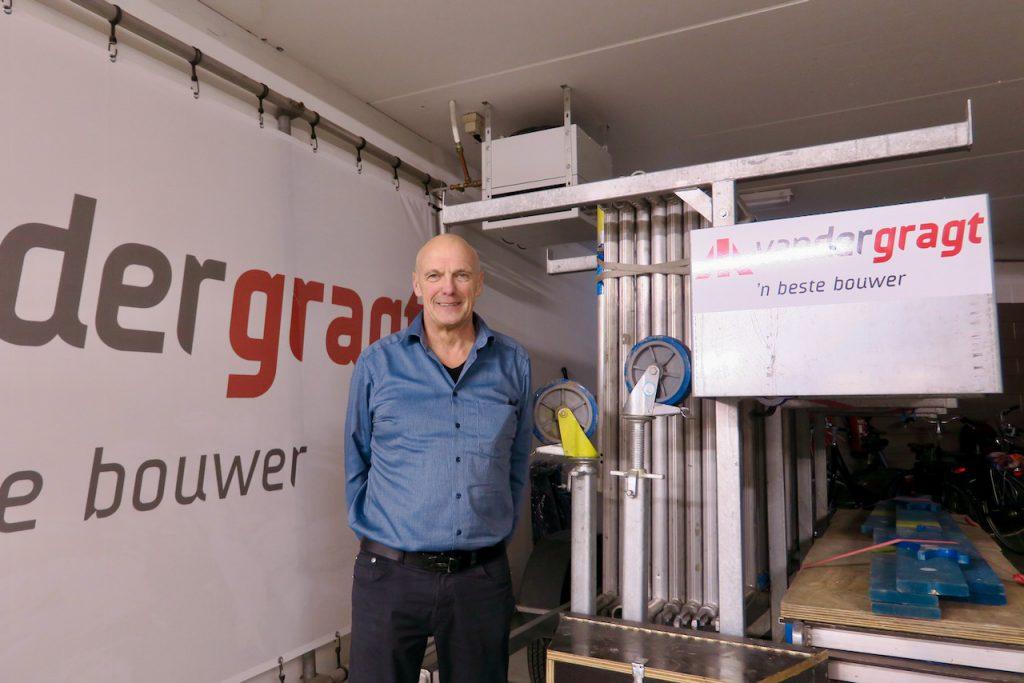 Ton van der Laan, directeur Van der Gragt