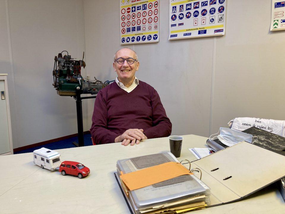 Peter van Hees:'Vroeger was autorijles iets bijzonders.'