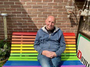 Frankie Vos, voorzitter De Zaanse Regenboog